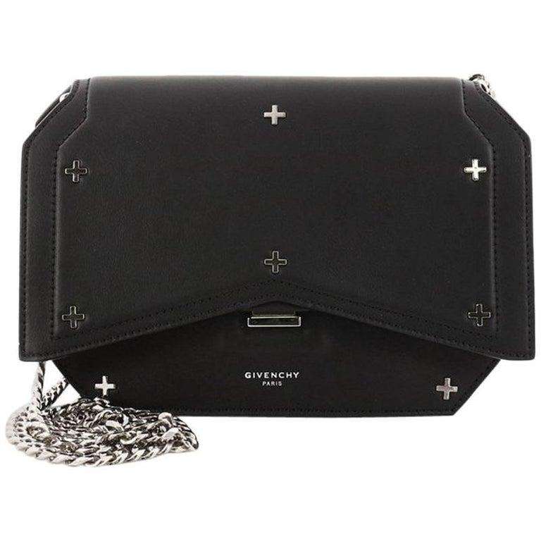 7d58fde8693b Givenchy Bow Cut Chain Crossbody Bag Studded Leather Mini at 1stdibs