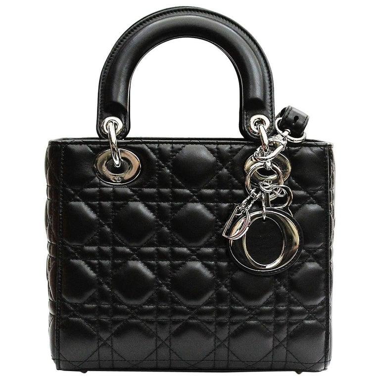4738732b0393 Christian Dior My Lady Dior Lambskin Cannage