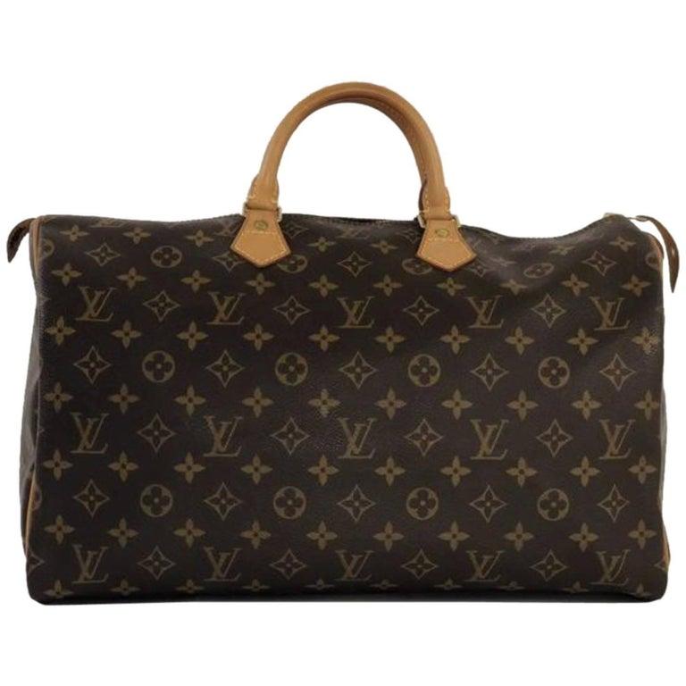Louis Vuitton Monogram Speedy 40 Top Handle Bag