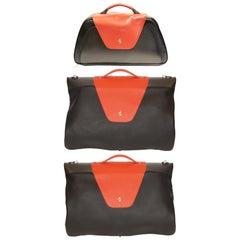 2004 Ferarri Enzo Luggage Suit Bag and Hand Bag Set