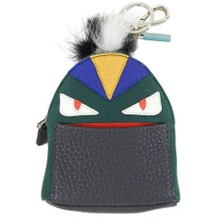 Fendi Fall 2015 Micro Monster Backpack Bag Bug Charm