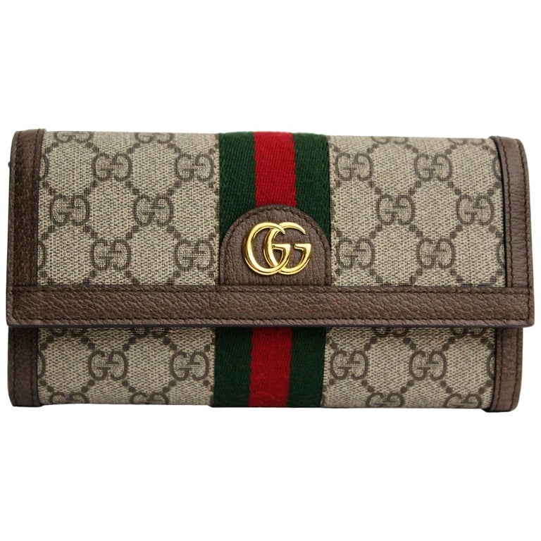 d14013291c48 Gucci Ophidia GG continental wallet at 1stdibs