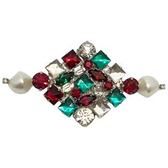 De Liguoro rhinestone pin from actress Elsa Martinelli's personal collection