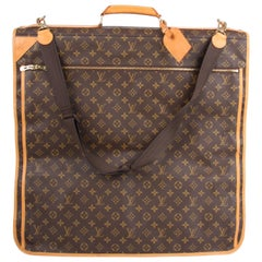 Louis Vuitton Monogram Canvas Garment Carrier Bag 5 hangers - brown