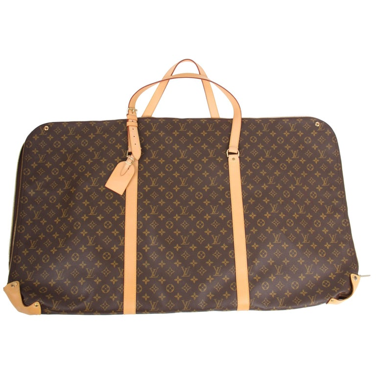 Louis Vuitton Kabul Garment Bag - brown