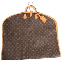 Louis Vuitton Monogram Canvas Garment Cover - brown