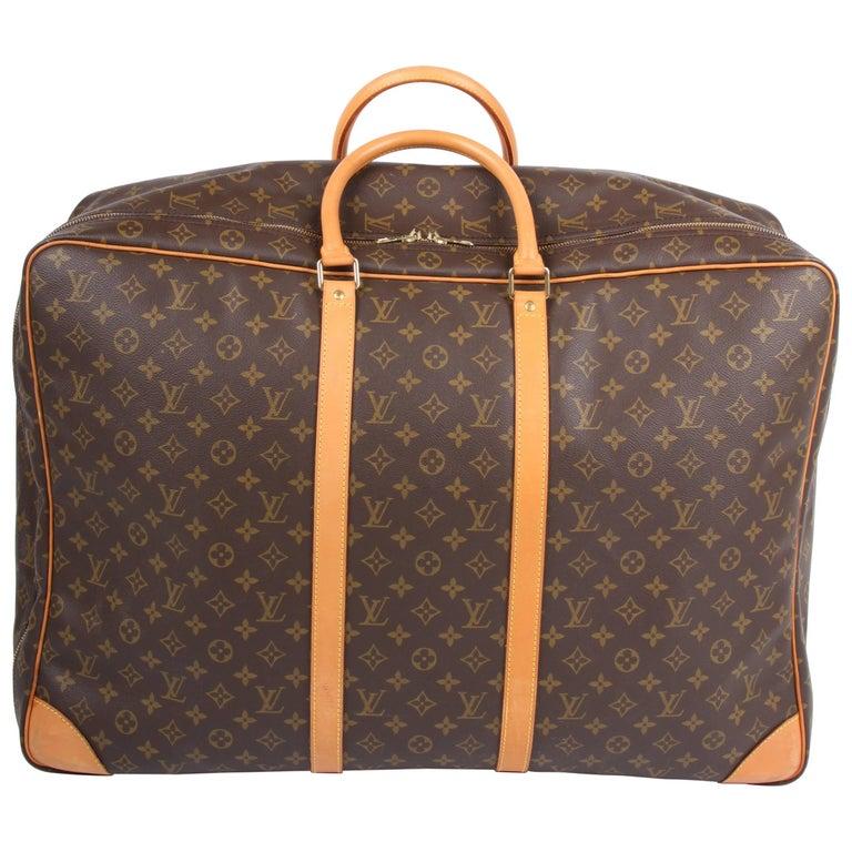 Louis Vuitton Monogram Canvas Sirius 65 Suitcase - brown   Louis Vuitton Monog
