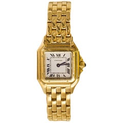 Cartier 18k Yellow Gold Small Panthere de Cartier Watch