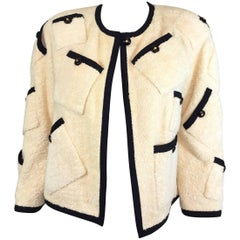 Chanel Collection 28 Terry Cloth Jacket