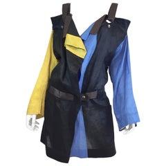 Issey Miyake Colorblock Jacket