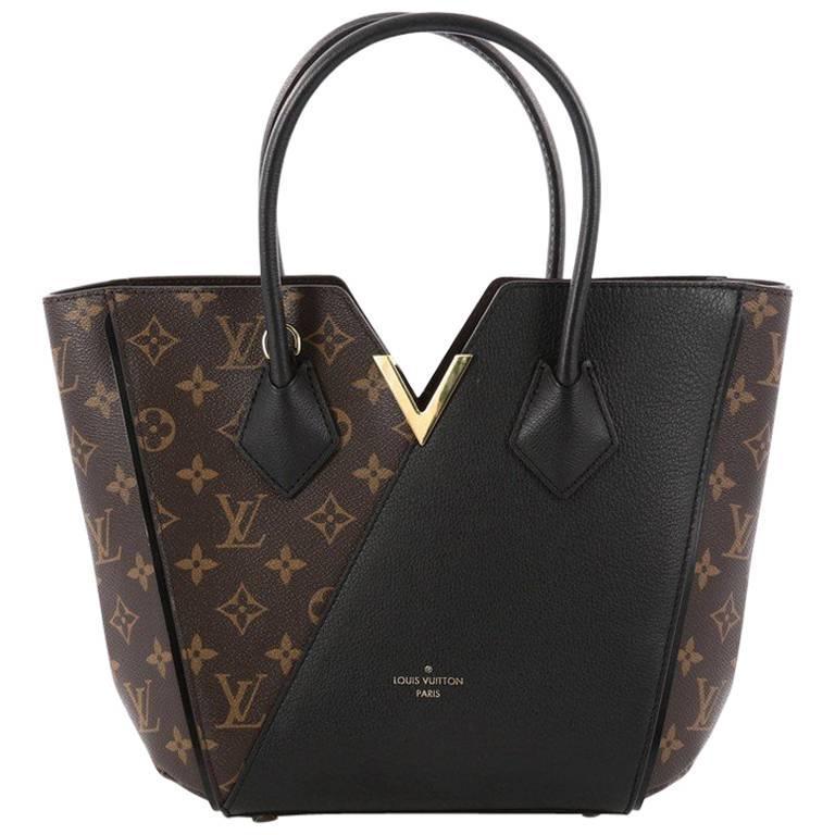 Louis Vuitton Kimono Handbag Monogram Canvas And Leather PM For Sale