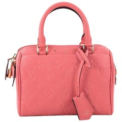 Louis Vuitton Speedy Bandouliere NM Monogram Empreinte Leather 20 Handbag