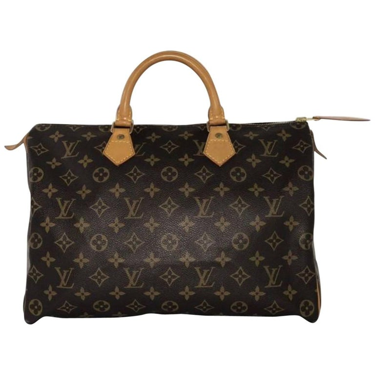 Louis Vuitton Monogram Speedy 35 Top Handle Bag