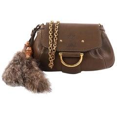 Gucci Smilla Chain Shoulder Bag Leather Small