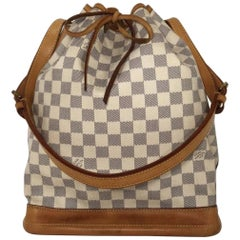 Louis Vuitton Damier Azur Noe GM Bucket Bag