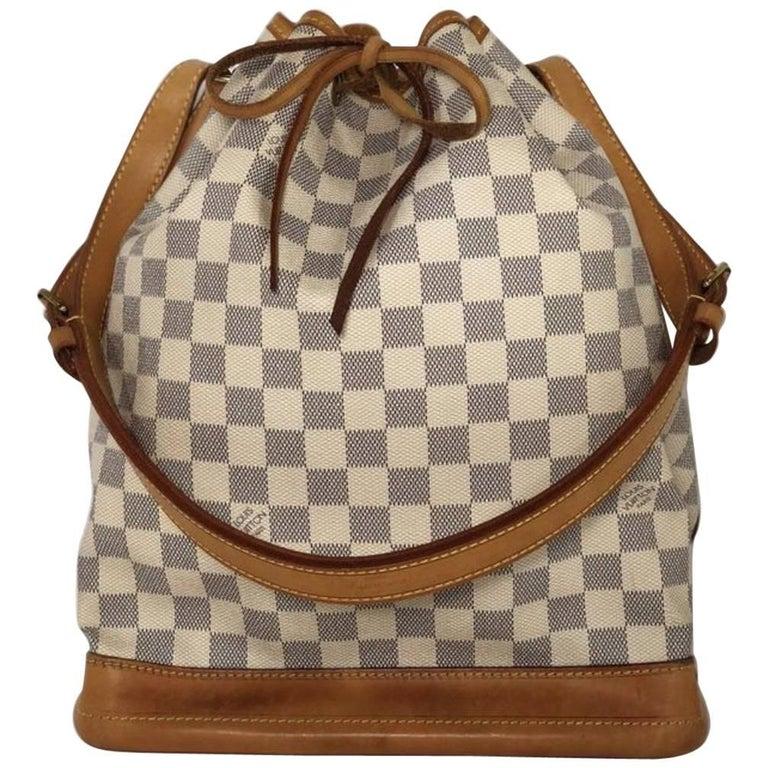 Louis Vuitton Damier Azur Noe GM Bucket Bag