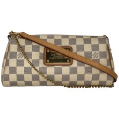 Louis Vuitton Damier Azur Eva Crossbody Bag