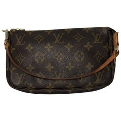 Louis Vuitton Monogram Pochette Accessories Wristlet
