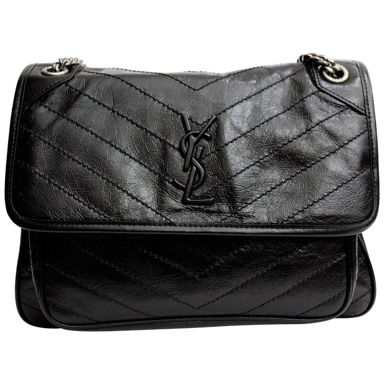 Yves Saint Lau Large Niki Shoulder Crossbody Bag For