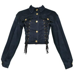 Jean Paul Gaultier Corseted Jacket