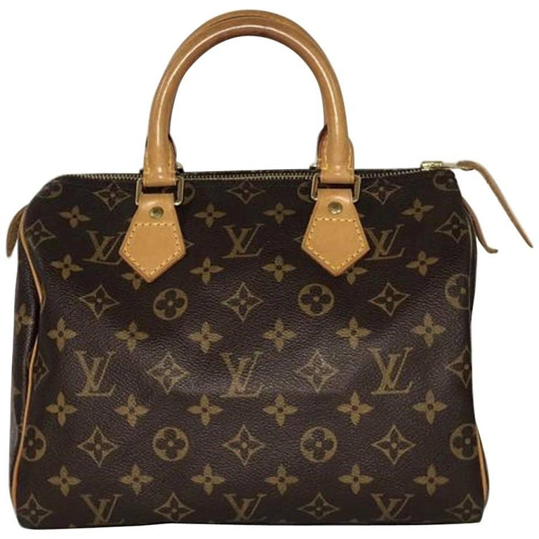 Louis Vuitton Monogram Speedy 25 Satchel
