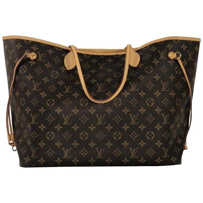Louis Vuitton Monogram Neverfull GM Tote Bag