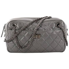 Chanel Reissue Camera Bag Quilted Aged Calfskin East West