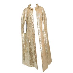Gold Sequin Cape, 1960s