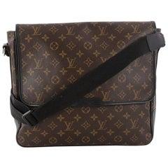Louis Vuitton Bass Bag Macassar Monogram Canvas GM