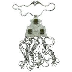 Jean Paul Gaultier Touareg Style Pendant Necklace