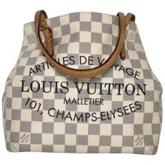 Louis Vuitton Damier Azur Cabas Articles De Voyage PM Tote Bag