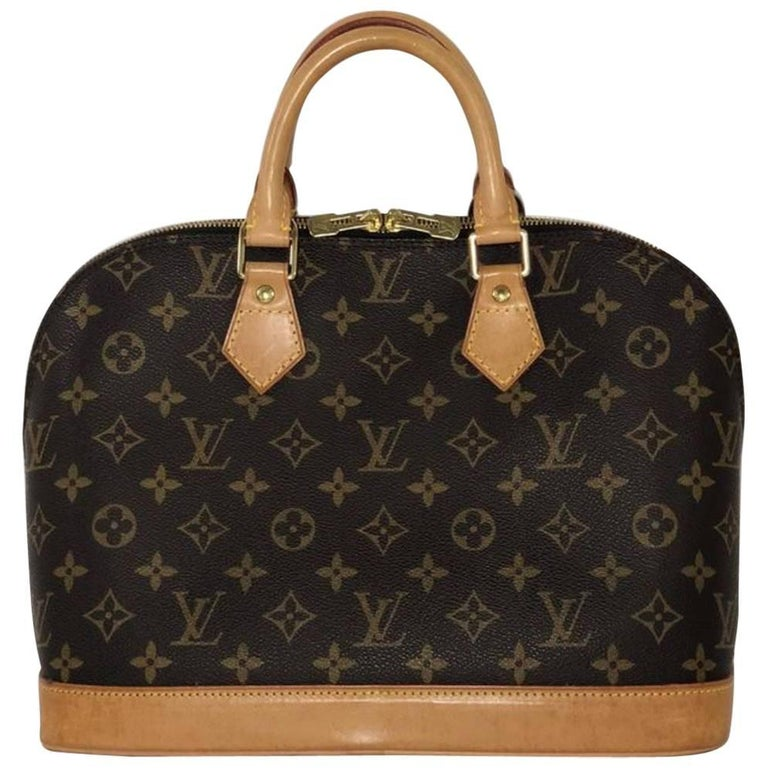 Louis Vuitton Monogram Alma PM Top Handle Bag