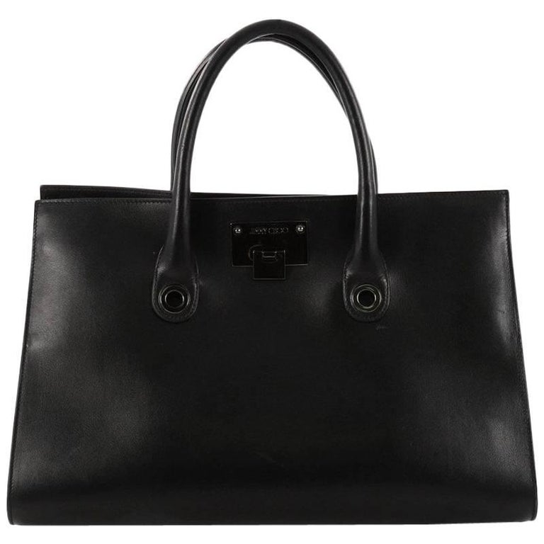 Jimmy Choo Riley Tote Leather Large