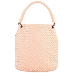 Bottega Veneta Bucket Hobo Intrecciato Nappa Small