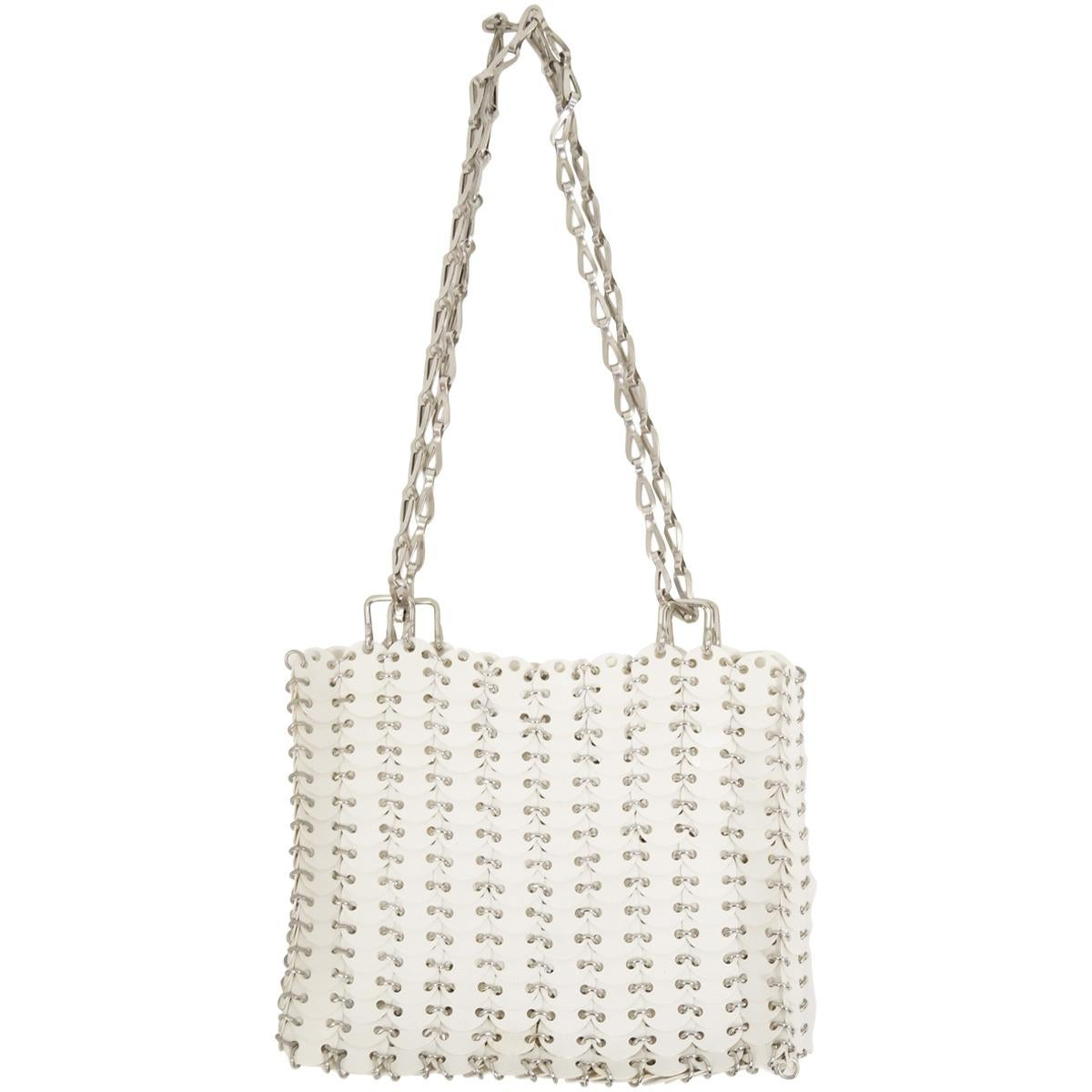 Paco Rabanne le 69 Bag Reissue In Antique Silver Medallions z3Sbfv0