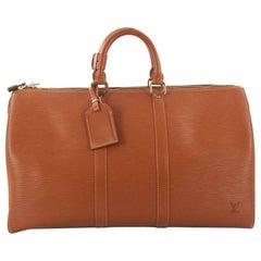 Louis Vuitton Keepall Bag Epi Leather 45