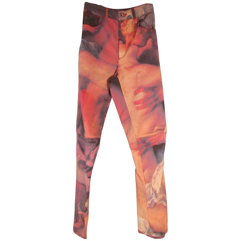 Vivienne Westwood Jeans with Baroque Image