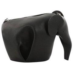 Loewe Elephant Crossbody Bag Leather Mini
