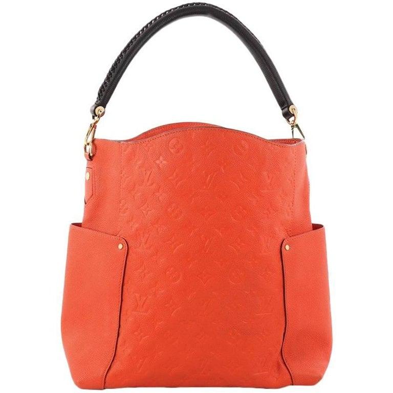 afa9991b7 Louis Vuitton Bagatelle Hobo Monogram Empreinte Leather at 1stdibs