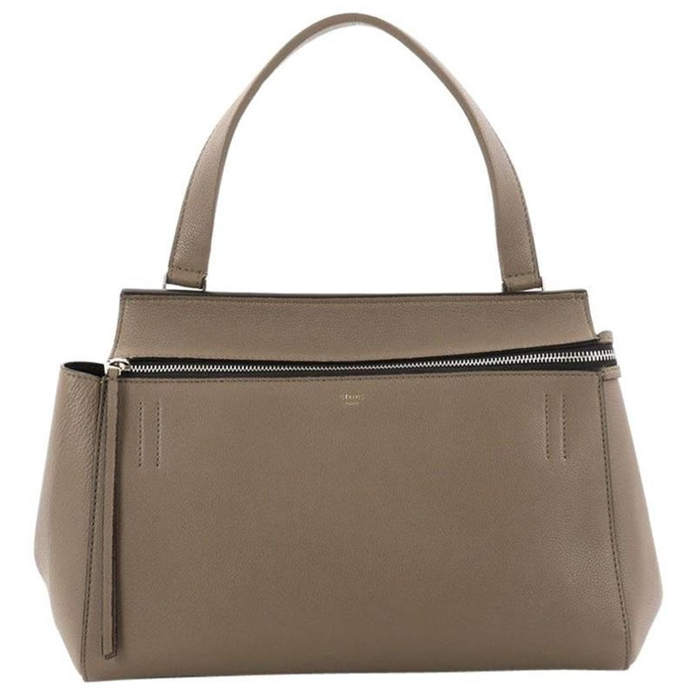 Celine Edge Bag Leather Medium
