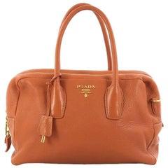 Prada Convertible Bauletto Bag Vitello Daino Medium