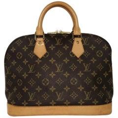 Louis Vuitton Monogram Alma PM Satchel Bag