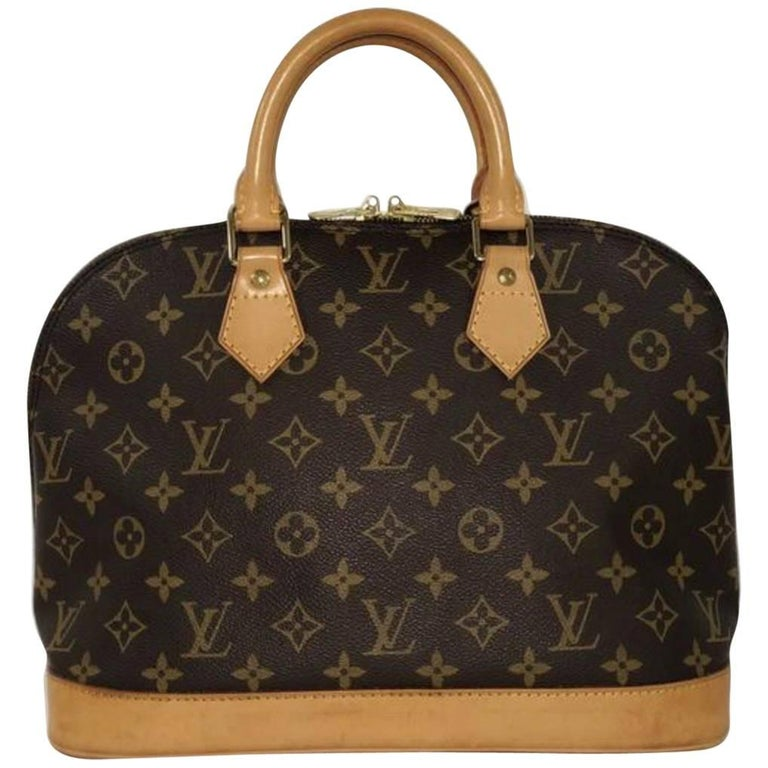 Louis Vuitton Monogram Alma PM Satchel Bag