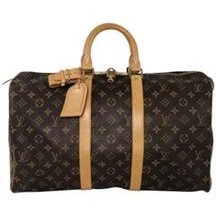 Louis Vuitton Monogram 45 Keepall Bag