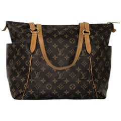 Louis Vuitton Monogram Totally MM Shoulder Bag