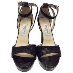 Jimmy Choo Black Formal Sandal