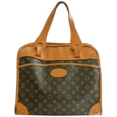Louis Vuitton The French Company Carry On Monogram Canvas Tote Bag, 1970s