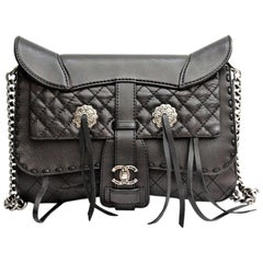 Chanel Dallas Saddle Ride My Western 2014 Metiers D'art Satchel Purse