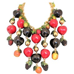 Carlo Zini Fruits Necklace