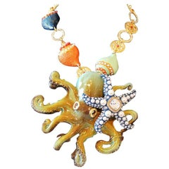 Carlo Zini Octopus Necklace